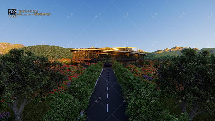 景区观景平台设计