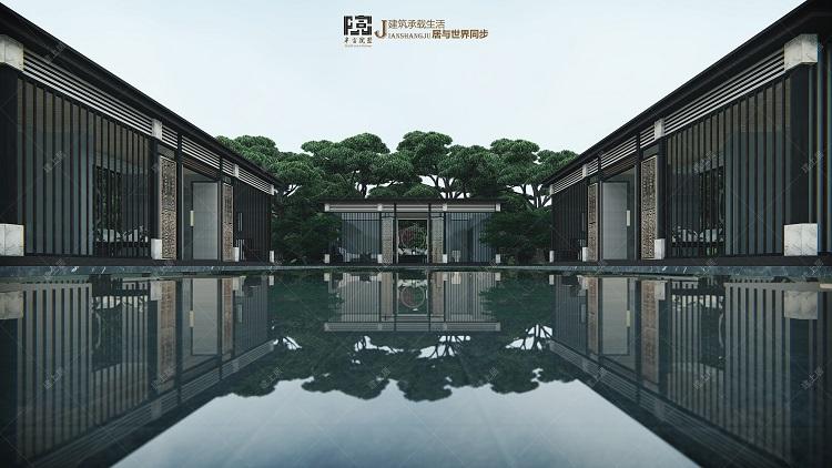 新中式房屋
