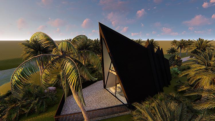观景民宿设计、建造