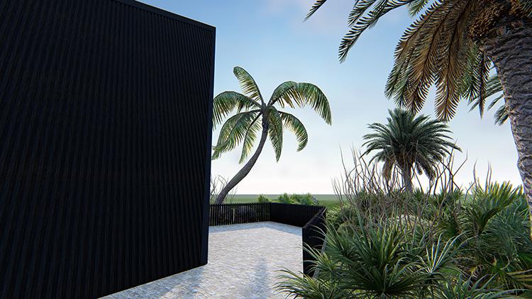 三角树屋方案
