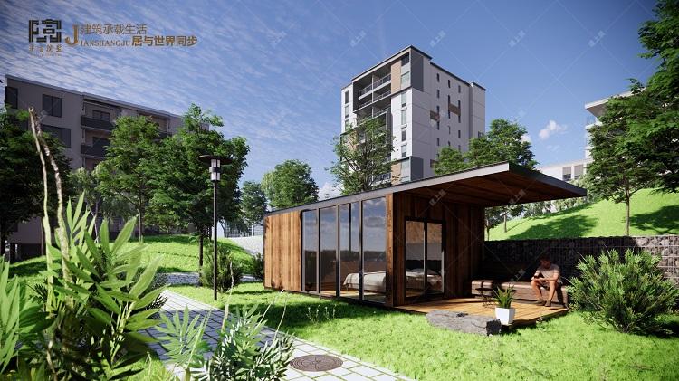可移动式民宿房屋