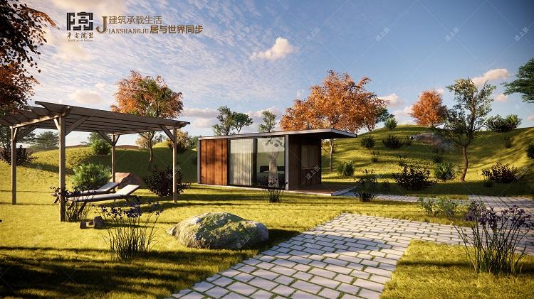 可移动式景观民宿