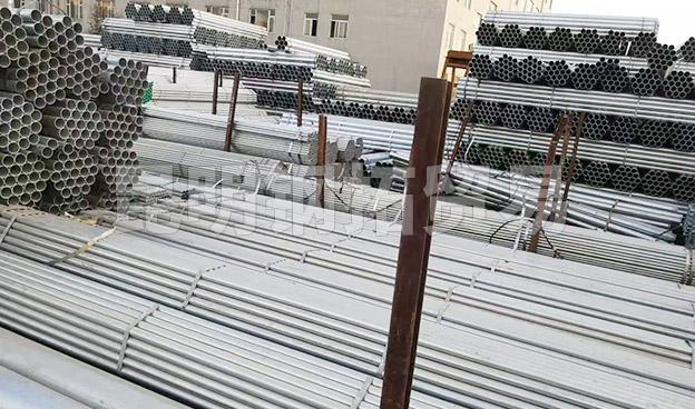 冷鍍鋅鋼管廠家批發