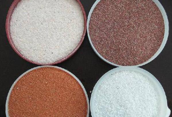 天然彩砂生产厂家 价格低 长期供应