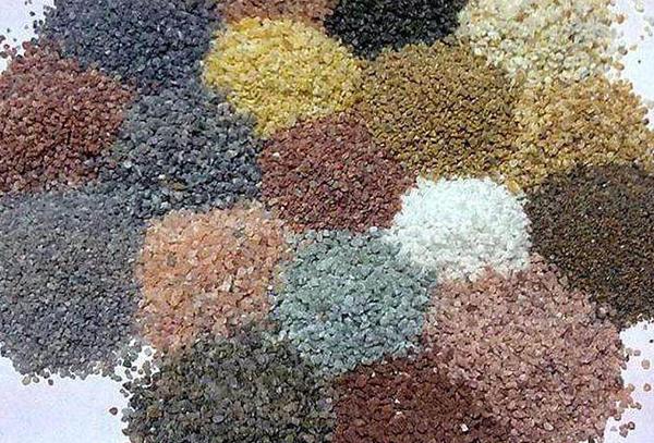 烧结彩砂 耐磨耐酸碱 颜色均匀