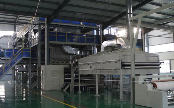河南丙綸紡粘熔噴復合非織造布生產線廠家講述無紡布的常見種類