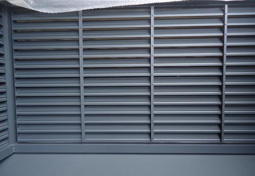 锌钢百叶窗一平方有多重