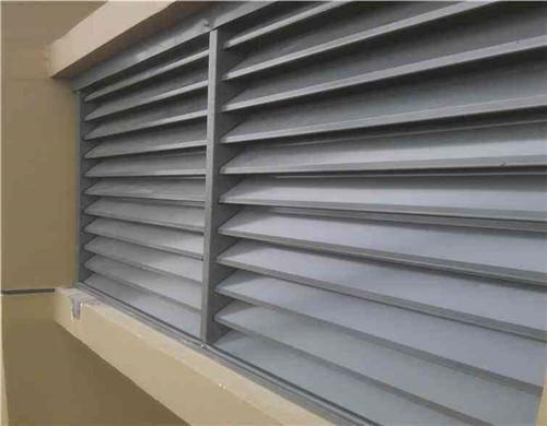 铝合金百叶窗外墙