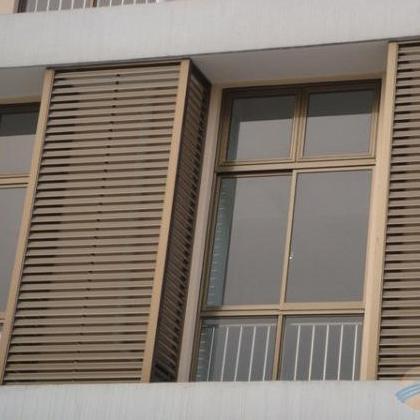 铝合金百叶窗电动