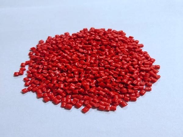 pp塑料颗粒-红色