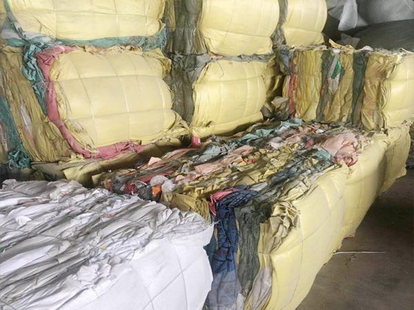 废旧编织袋基地(三)