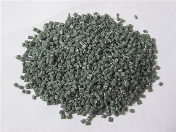 pe塑料颗粒-绿色
