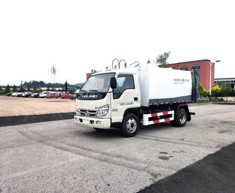 鑫华驰牌THD5040Z77B6自装卸式垃圾车
