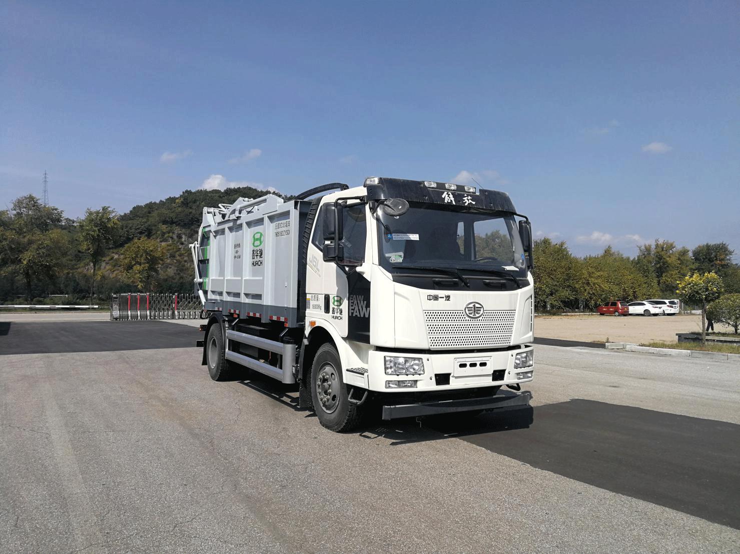 解放THD5182ZYSC6型压缩式垃圾车