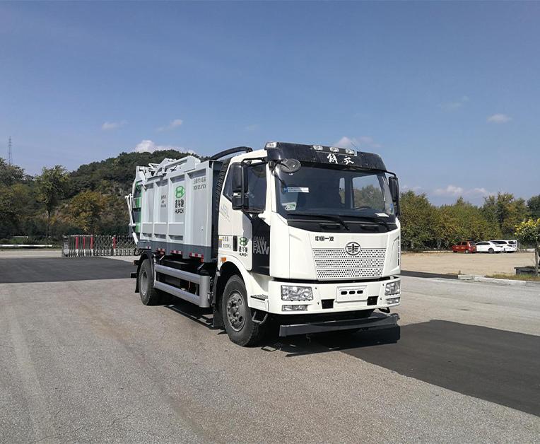 鑫华驰牌THD5182ZYSC6型压缩式垃圾车