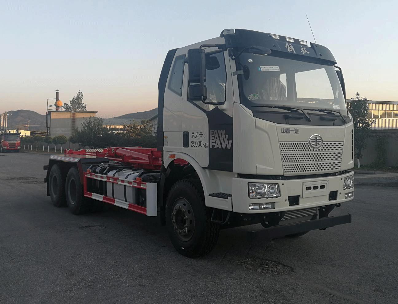 东风THD5251ZXXC6车厢可卸式垃圾车