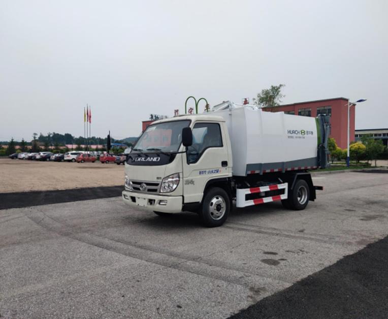 鑫华驰牌THD5040ZZZB6自装卸式垃圾车