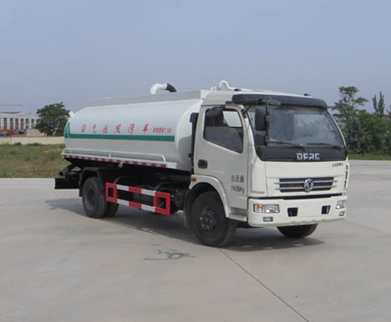 宁汽牌HLN5110GZXE5型沼气池吸污车