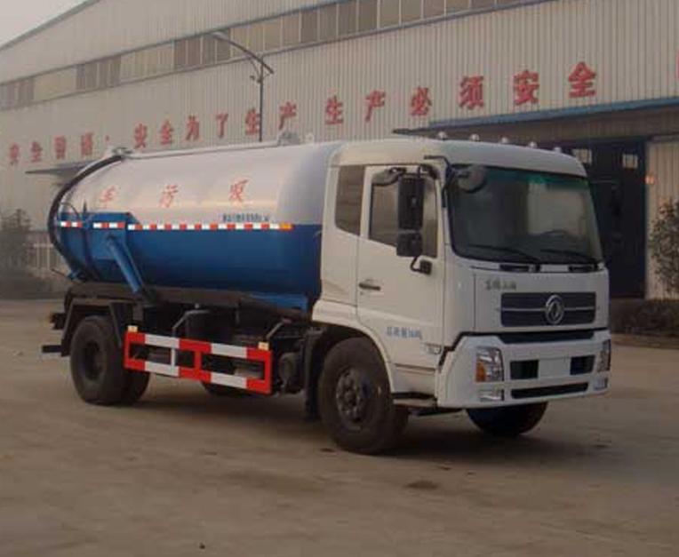 东风HLL5160GXWD5型吸污车