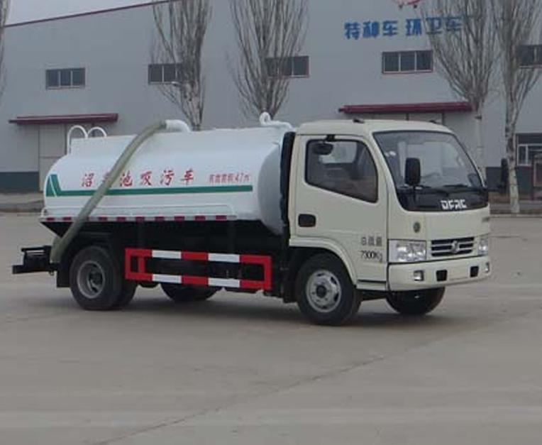 宁汽牌HLN5070GZXE5型沼气池吸污车