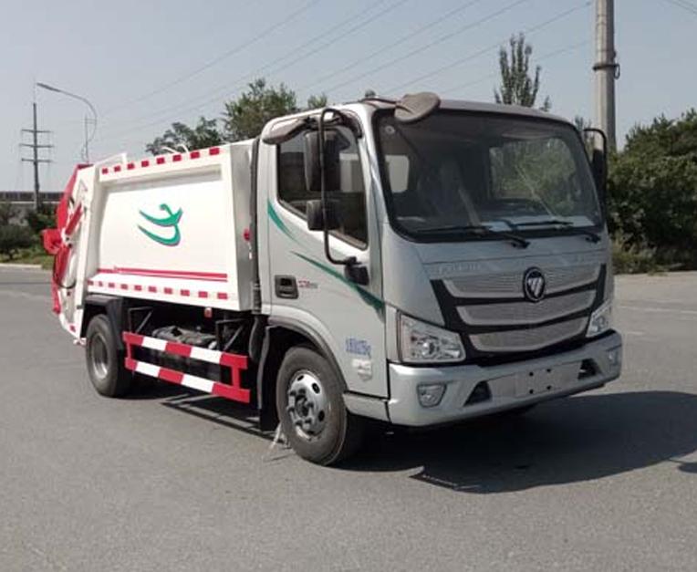HLL5080ZYSB5型压缩式垃圾车