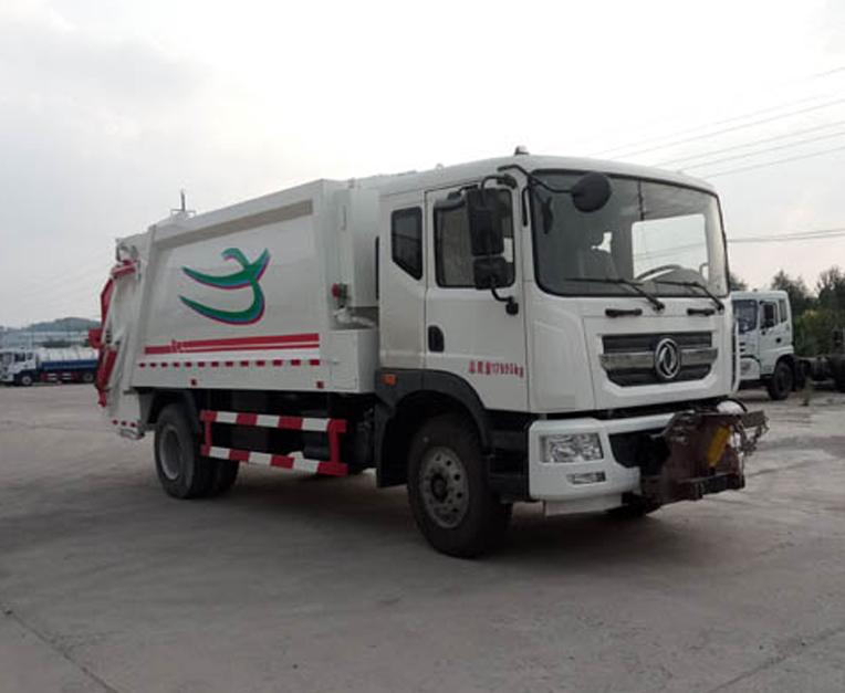 HLL5180ZYSE5型压缩式垃圾车