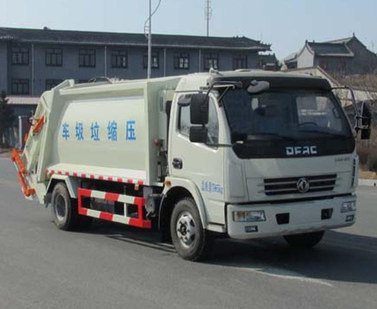 HLL5080ZYSE5型压缩式垃圾车