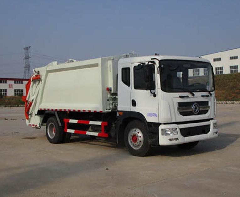 东风HLL5160ZYSE5型压缩式垃圾车