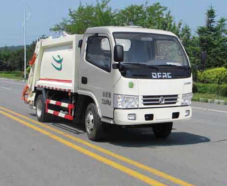 HLL5070ZYSE5型压缩式垃圾车
