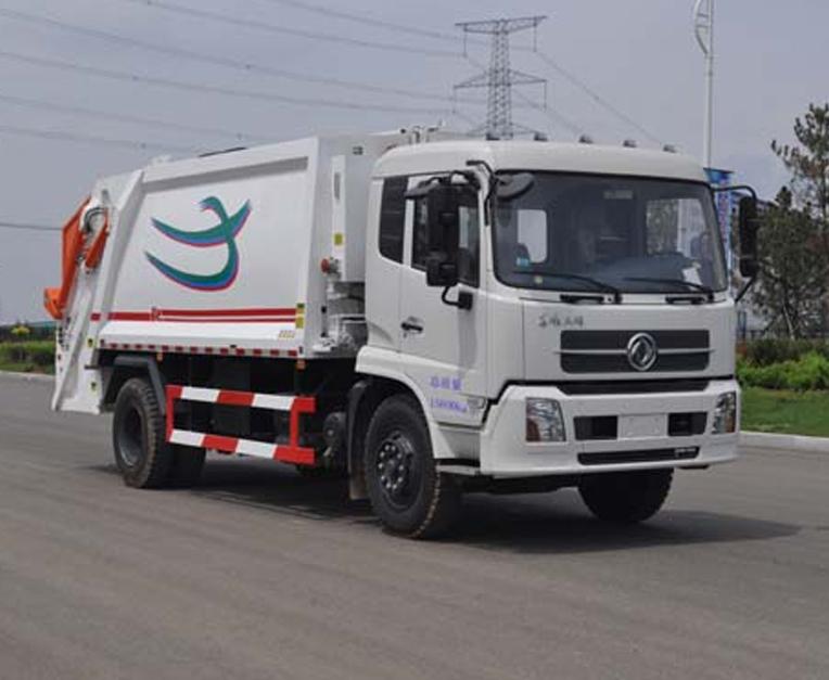 东风HLL5160ZYSD5型压缩式垃圾车