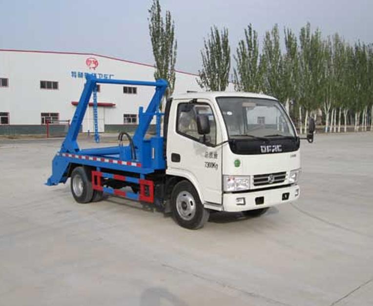 东风HLL5070ZBSE5型摆臂式垃圾车