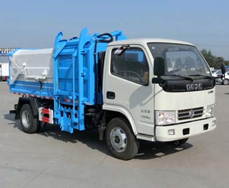 东风HLL5070ZDJE5型压缩式对接垃圾车