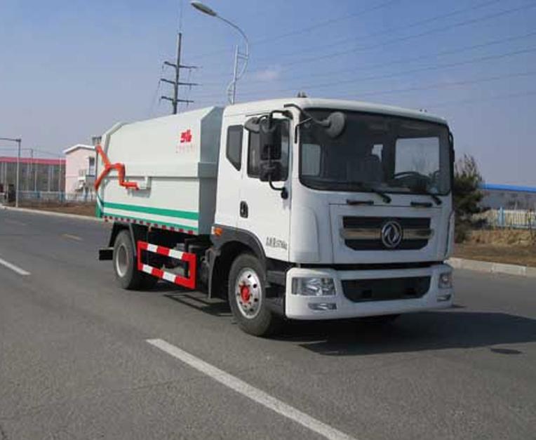 东风HLL5160ZDJE5型压缩式对接垃圾车