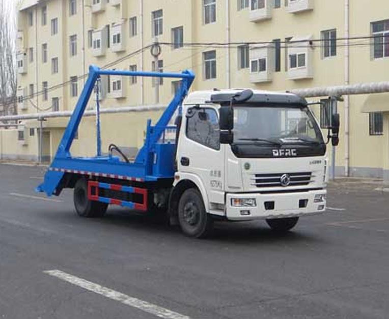 东风HLL5110ZBSE5型摆臂式垃圾车