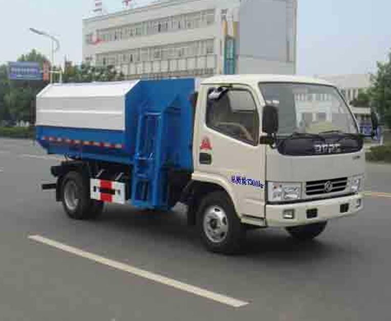 东风HLL5070ZZZE5型自装卸式垃圾车