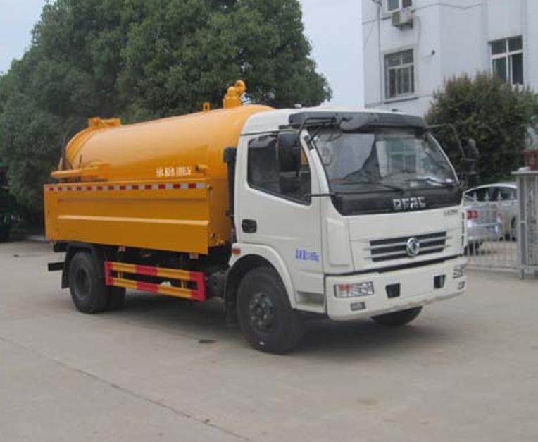 HLQ5110GQWE5型清洗吸污车