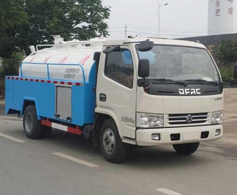 HLQ5071GQWE5型清洗吸污车