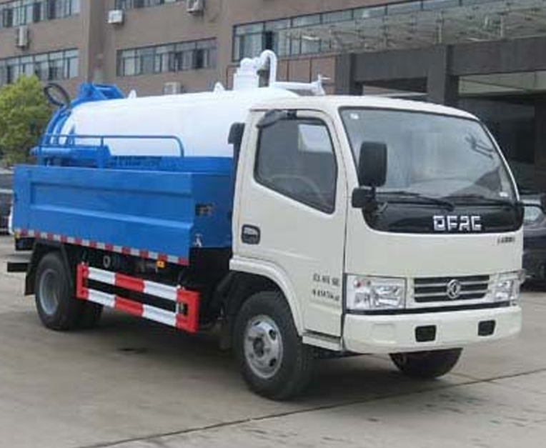 HLQ5040GQWE5型清洗吸污车
