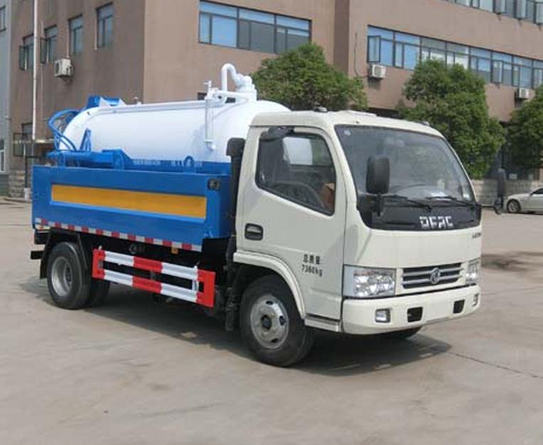 HLQ5070GQWE5型清洗吸污车