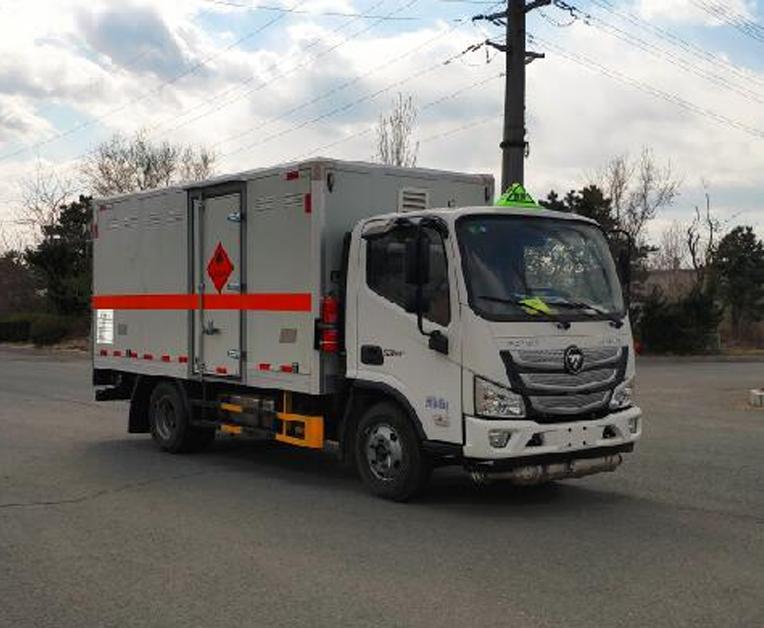 HLL5040XRQB6型易燃气体厢式运输车