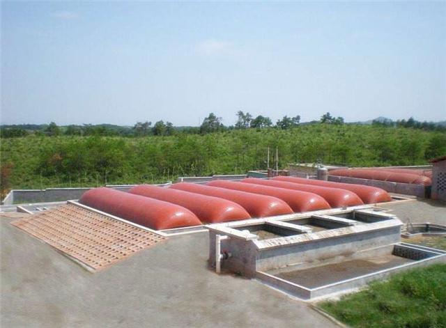環保軟體沼氣池