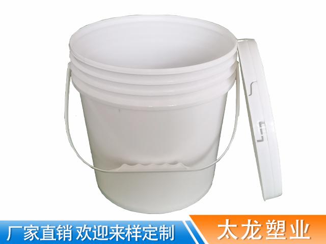 10L美式塑料提手涂料桶