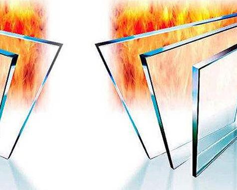 夹层防火玻璃