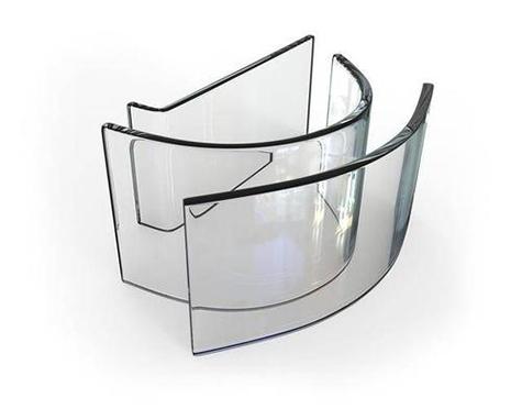 弯钢玻璃加工
