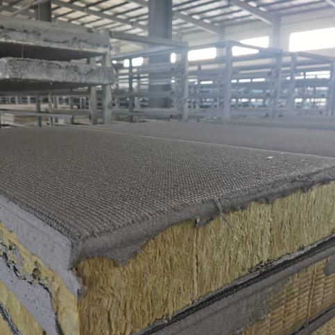 复合岩棉板是如何铺装完工的!