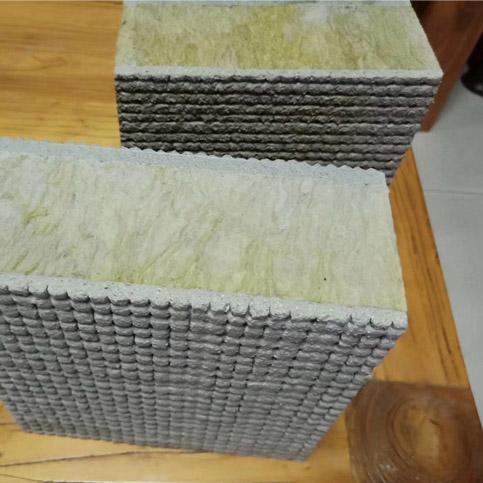 岩棉双面复合砂浆保温板