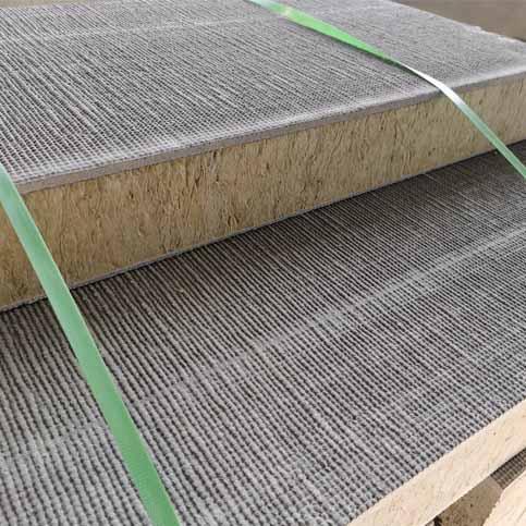 专业生产外墙岩棉复合板