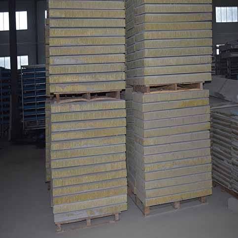 复合岩棉板生产