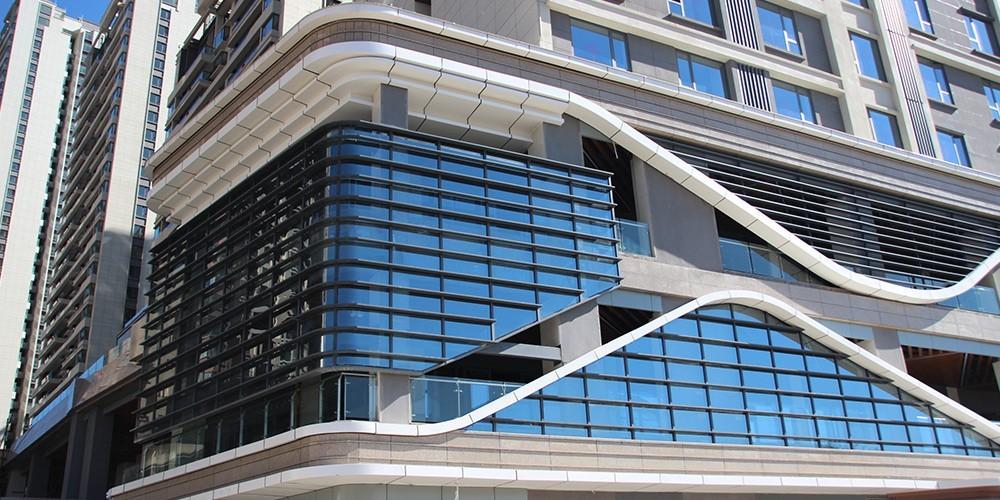 国昆铝单板丨新希望集团昆明楼盘室外铝单板装饰工程项目