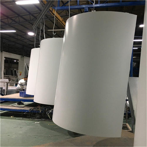 包柱铝单板